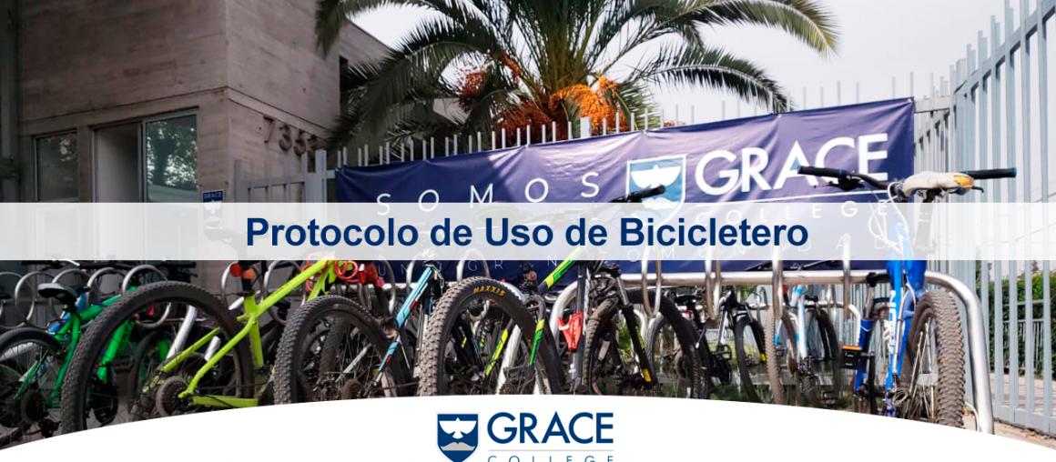 ...Uso de bicicleteros