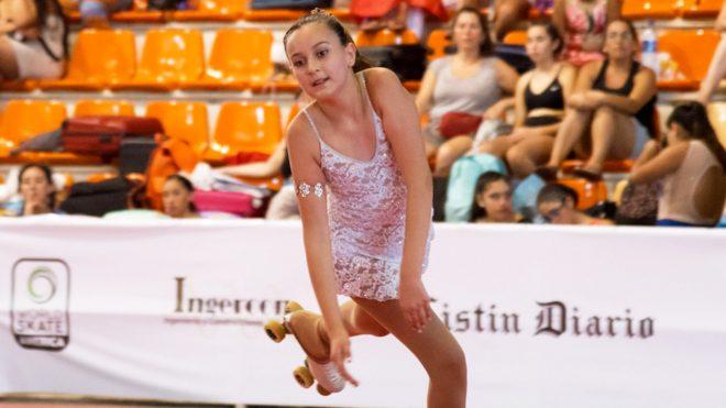 Nuestra alumna Matilde Soto obtuvo medalla de oro en el 1er. Open Internacional de Clubes de Patinaje Artístico