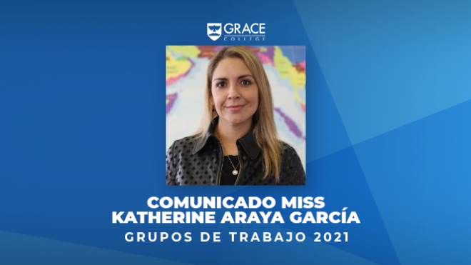 Comunicado miss Katherine Araya Garcia, sobre grupos de trabajo 2021
