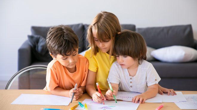 ...¿Cómo desarrollar habilidades artísticas en niños?